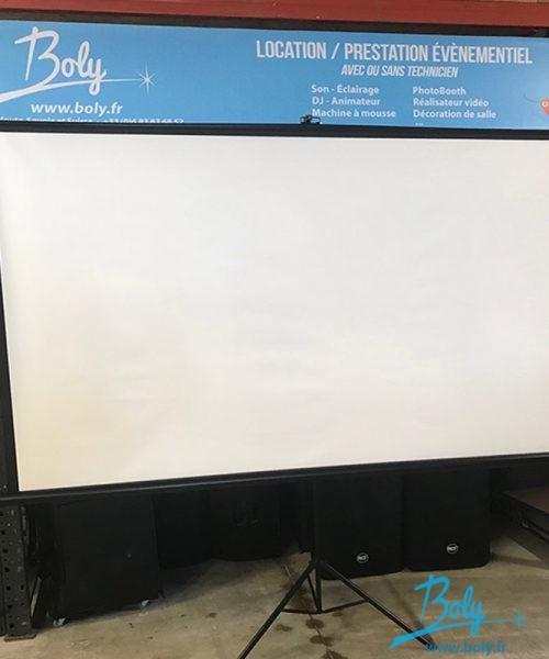location écran vidéo haute-savoie